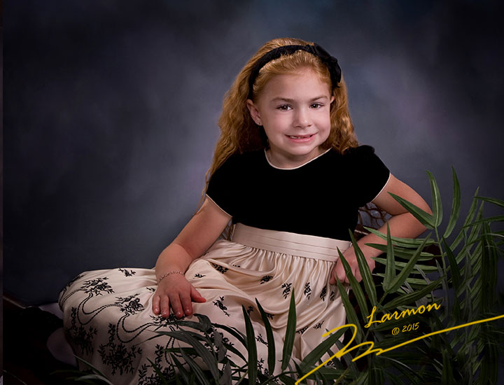 Portraits of Children by Larmon Studios